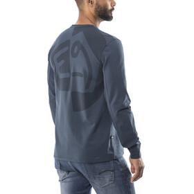 E9 Scar - T-shirt manches longues Homme - bleu